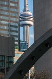 The Captive CN Tower in Toronto, Canada Stock Image