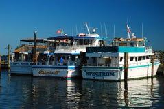 Captree State Park Docks Stock Image