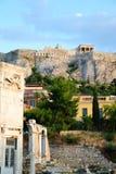 Captura única del parthenon Imagen de archivo libre de regalías