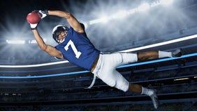 Captura da aterragem do futebol americano Imagens de Stock Royalty Free