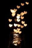 Captura de corazones Foto de archivo