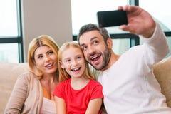 Capturando um momento brilhante junto Imagens de Stock Royalty Free