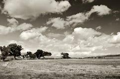 Capture of breathtaking nature scenic landscape Royalty Free Stock Image