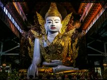 Big Budda sunshine stock images
