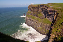 Capture of the cliffs of moher, ireland Royalty Free Stock Images