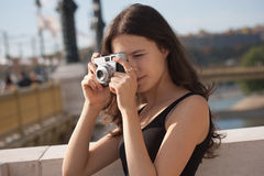 Capture the moment. Royalty Free Stock Photography