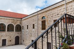 Old Monastery in north Lebanon Door royalty free stock images