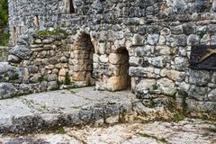Old Monastery in north Lebanon Door royalty free stock photography
