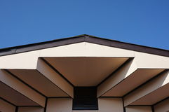 Capture scene roof design of the house Royalty Free Stock Images