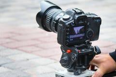 Capture sur le film Images libres de droits