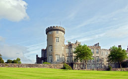 Capture of vibrant irish castle in county clare Stock Photo