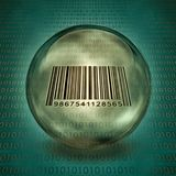 Captured Barcode Stock Image