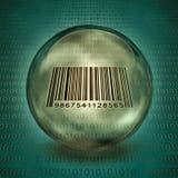 Captured Barcode Stock Image