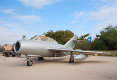 Captured MiG-15UTI Stock Image
