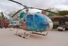 Captured SA-341L Gazelle Royalty Free Stock Images
