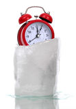 Captured time in ice Stock Photography