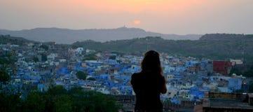 Capturez le coucher de soleil Photo libre de droits