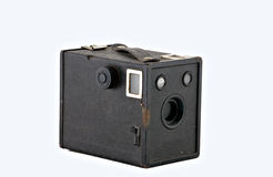 Capturing Images in the 1920's. Old box camera from the 1920's Stock Image