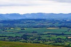 View from Busk 2, Penrith, Cumbria, England. stock photos