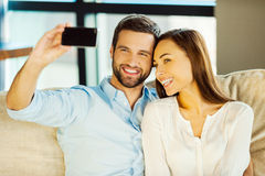 Capturing love. Royalty Free Stock Photography