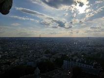 Parisian view royalty free stock image
