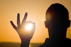 capturing sun стоковые изображения rf