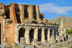 Capua amfiteater Arkivbilder
