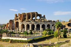 Capua amphitheatre Stock Foto's