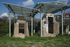 Capua grobowowie obrazy royalty free