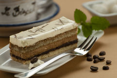 Capuccino cake Stock Photo
