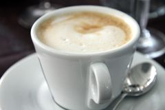 Capuccino coffee Stock Photo