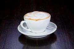 Capuccino Coffee Cup Royalty Free Stock Image