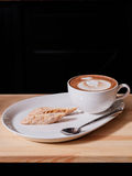 Capuccino and Italian pastries Royalty Free Stock Photos