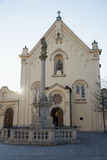 Capuchin Church in Bratislava Royalty Free Stock Photography