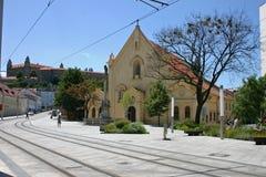 Capuchin Church, Bratislava, Slovakia Royalty Free Stock Photos