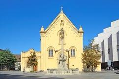 Capuchin Church in Bratislava, Slovakia. Royalty Free Stock Images