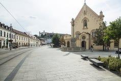 Capuchin church bratislava slovakia europe Stock Photography