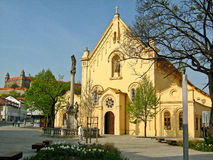 Capuchin Church in Bratislava, Slovakia Stock Images