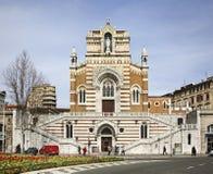 Capuchin Church (church Of Our Lady Of Lourdes) In Rijeka. Croatia