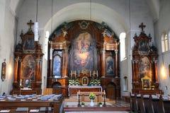 Capuchin Church, Vienna, Austria Stock Photos