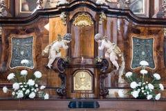 Capuchin kerk Stock Foto