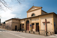 Capuchin monastery in Castel San Pietro Terme Royalty Free Stock Photos