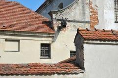 Capuchin monastery, Olesko, Lviv region, Ukraine. royalty free stock image