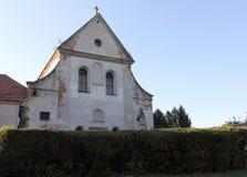 Capuchin monastery in Olesko Stock Photo
