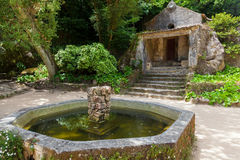 Capuchin monastery in Sintra, Portugal Stock Photo