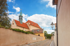 Capuchinkloster med kyrkan av vår dam av änglar Royaltyfri Bild