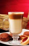 Capuchino coffe Stock Image