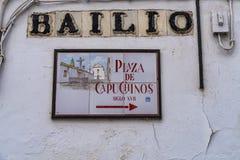 Capuchinos Square, Plaza de Capuchinos in Cordoba, Andalucia, Spain