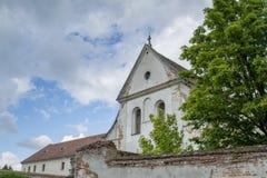Capuchins εκκλησία κοντά στο κάστρο Olesko Στοκ Φωτογραφίες