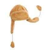 Capuchon avec des ailerons d'oreille Image stock